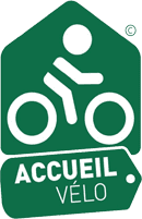 Cycling welcome label